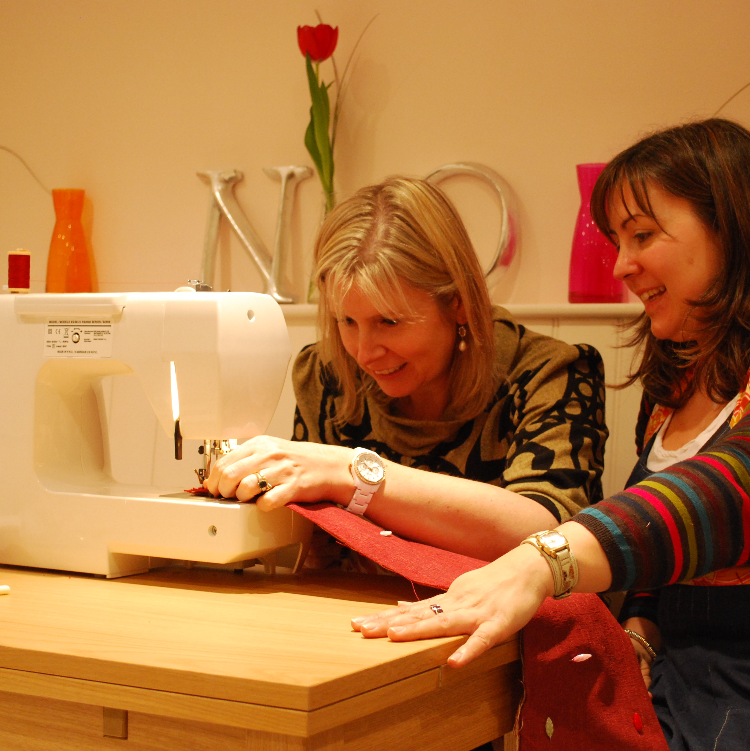 Private Sewing Lesson in the Sewing Parlour