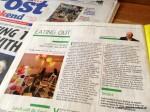 Bristol Post - Weekend Magazine, 2013
