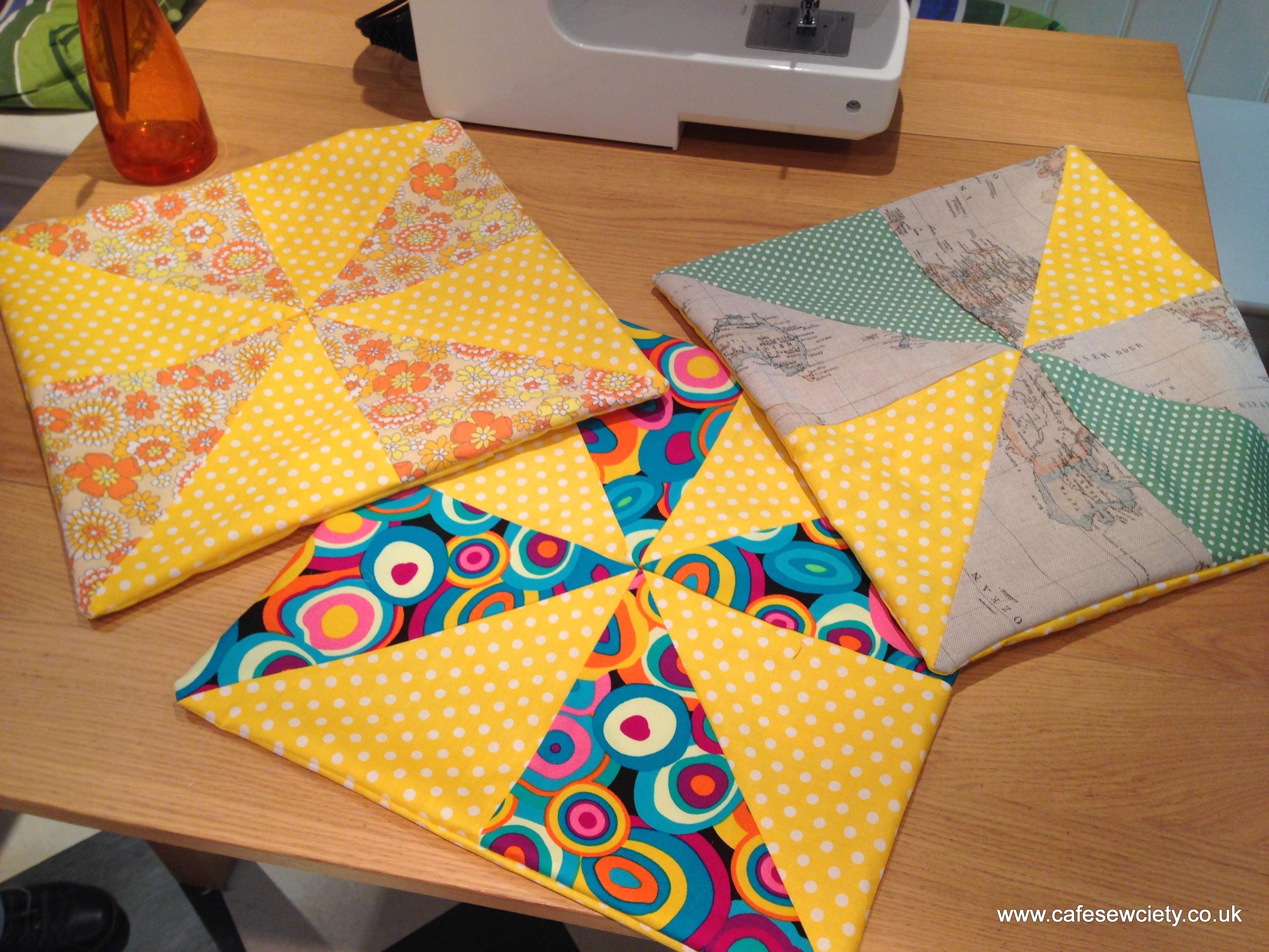 Beginner Sewing Skills - Cushion Covers