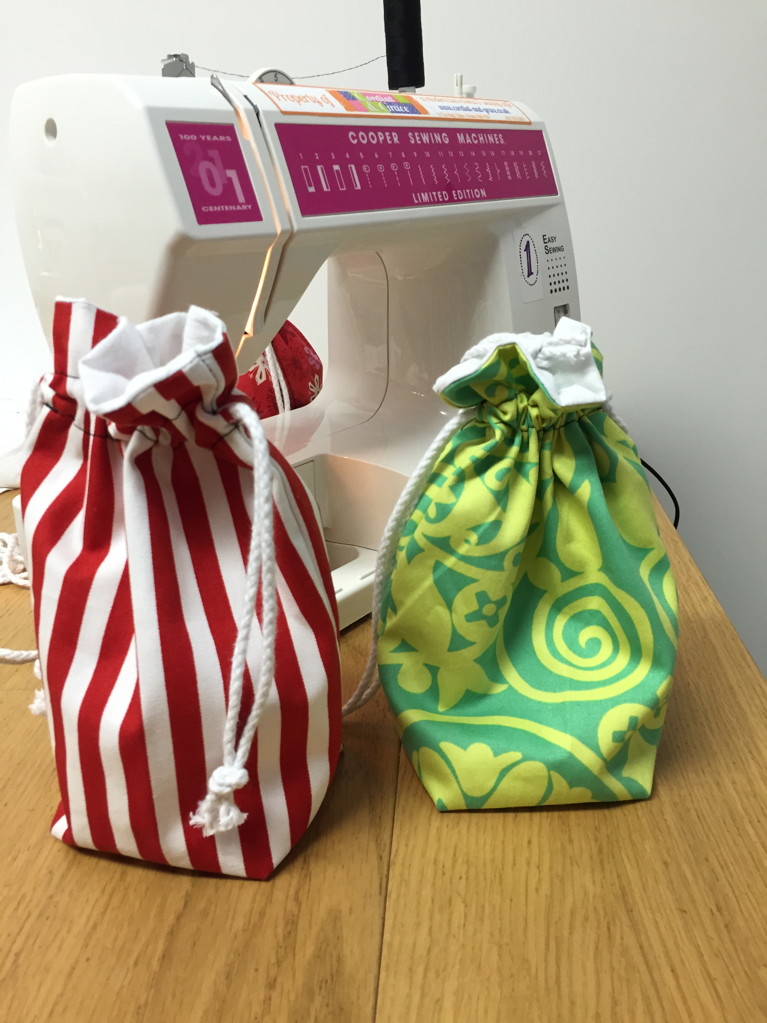 Drawstring Bag (2hrs)