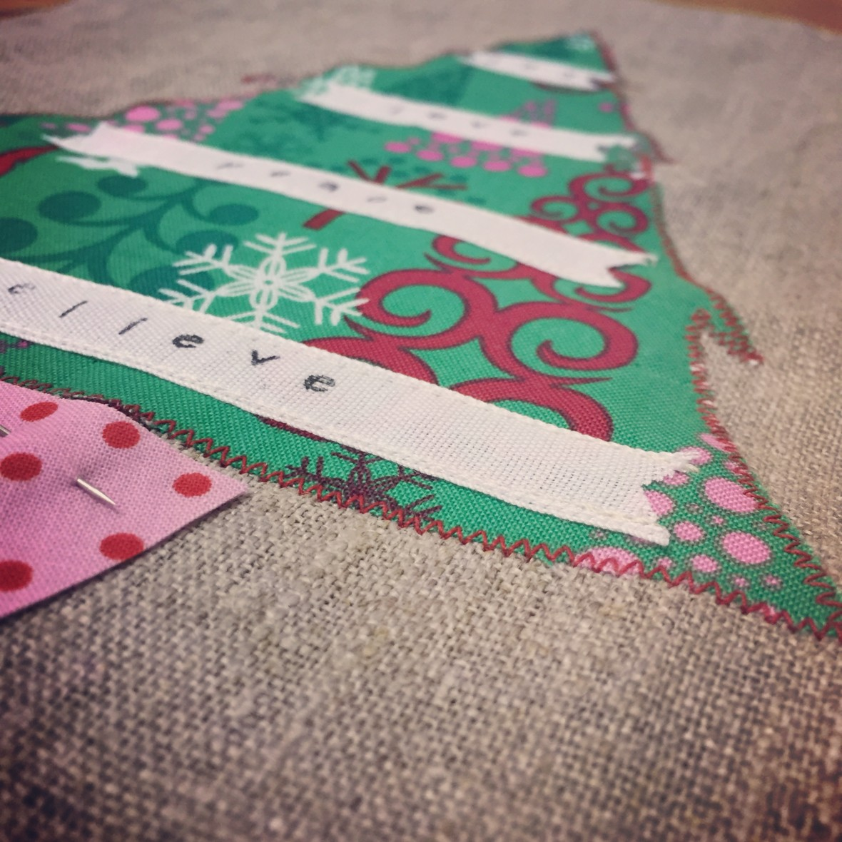 Beginner Sewing Skills - Christmas Style!
